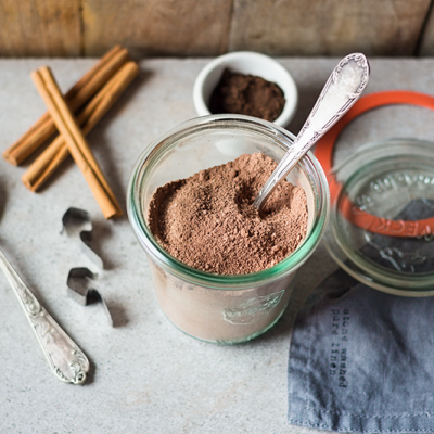 Chocolat en poudre maison et sans sucre