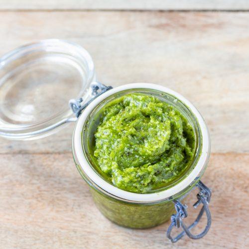 Gommage au thé vert et menthe