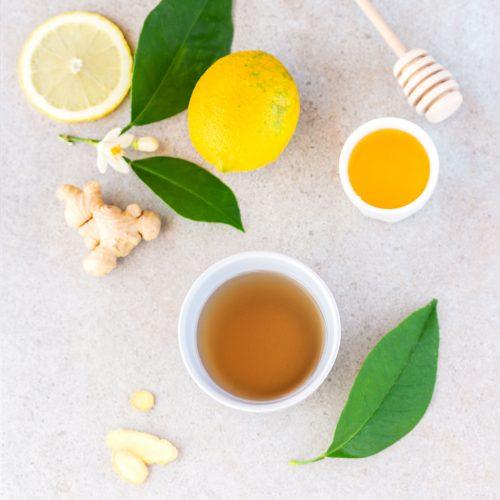 Boisson detox gingembre-citron-miel